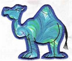 Applique Camel embroidery design