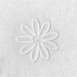FSL Daisy Top embroidery design