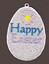 FSL Happy Easter Egg embroidery design