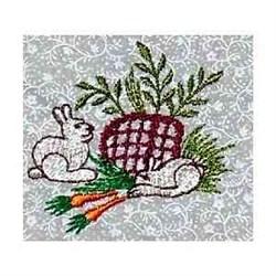 White Rabbits embroidery design