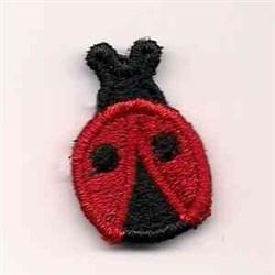 Ladybug Motif embroidery design
