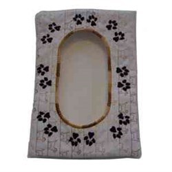 Paw Wet Wipes Case Top embroidery design