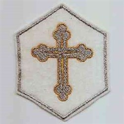 Cross Holder embroidery design