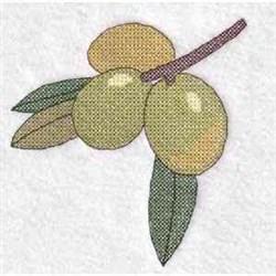 Cross Stitch Olive embroidery design