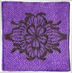 FSL Flower Square embroidery design
