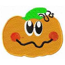 Cute Pumpkin embroidery design