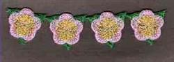 FSL Flower Border embroidery design