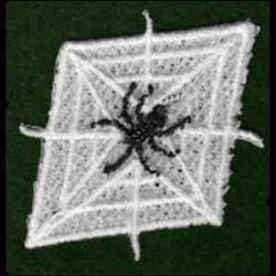 FSL Spiderweb embroidery design