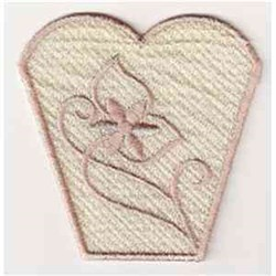 FSL Flower Project embroidery design