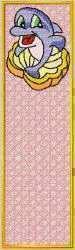 FSL Dolphin Bookmark embroidery design