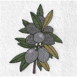 Olive Tree embroidery design