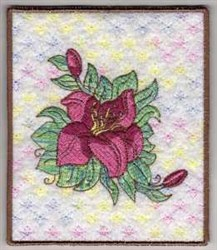 Spring Flower Picture embroidery design