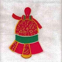 Bell Christmas Ornament embroidery design
