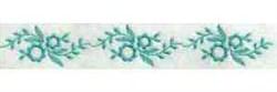 Linen Floral Border embroidery design