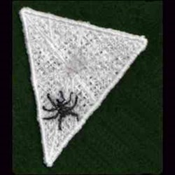 FSL Spider Triangle embroidery design