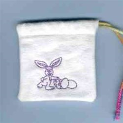 Easter Candy Bag embroidery design
