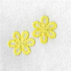 FSL Yellow Daisy embroidery design