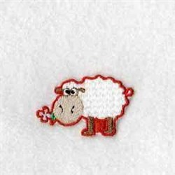 Puzzle Sheep embroidery design