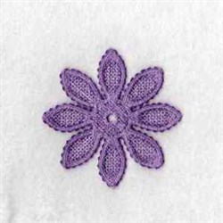 FSL Flower embroidery design