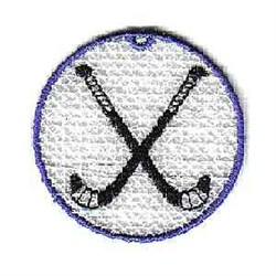 FSL Hockey Ornament embroidery design
