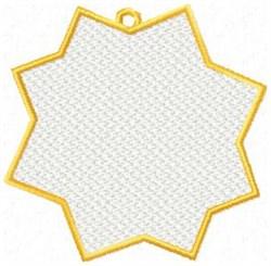 FSL Blank Ornament embroidery design