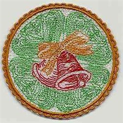 FSL Holiday Coaster embroidery design