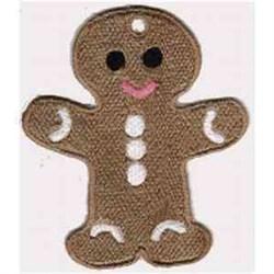 FSL Gingerbread Ornament embroidery design