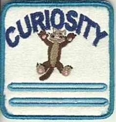 Curiosity Patch embroidery design