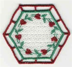 FSL Floral Sachet embroidery design
