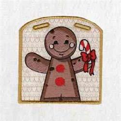 Gingerbread Xmas Box embroidery design