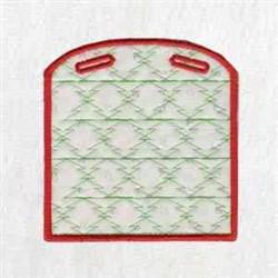 Santa Xmas Box embroidery design