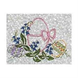 Redwork Easter Eggs embroidery design