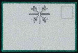 Let it Snow Back embroidery design