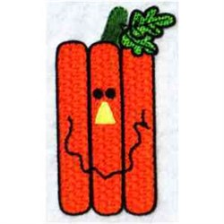 Funky Jack O Lantern embroidery design