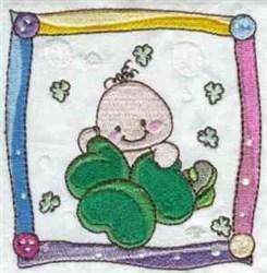 Irish Baby Quilt Block embroidery design