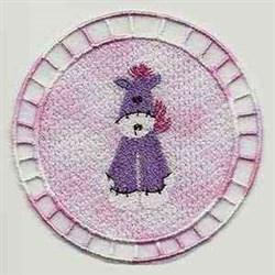 FSL Pony Ornament embroidery design