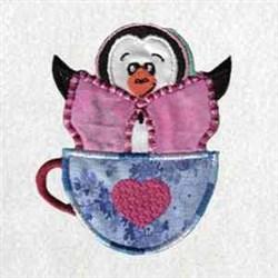 Winter Penguin embroidery design