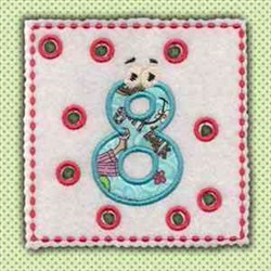 Lace Up Page 8 embroidery design
