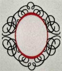 Ornamental Frame embroidery design