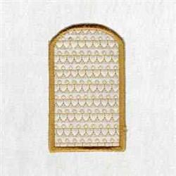 Xmas Box Side embroidery design