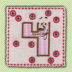 Lace Up Page 4 embroidery design