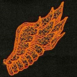 FSL Angel Wing embroidery design