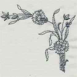 Vintage Kitchen Border embroidery design