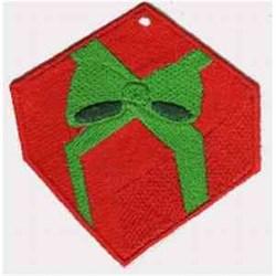 FSL Gift Ornament embroidery design
