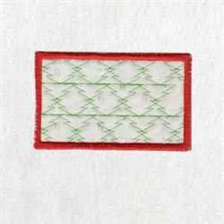 Xmas Box Bottom embroidery design