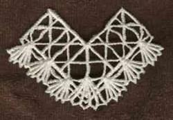 FSL Border Lace embroidery design