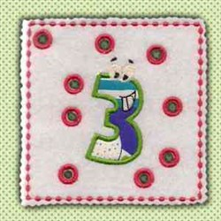Lace Up Page 3 embroidery design