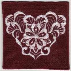 FSL Floral Border embroidery design