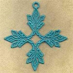 FSL Holiday Ornament embroidery design