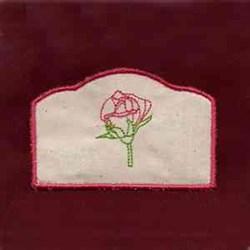 Votive Rose Candlewrap embroidery design